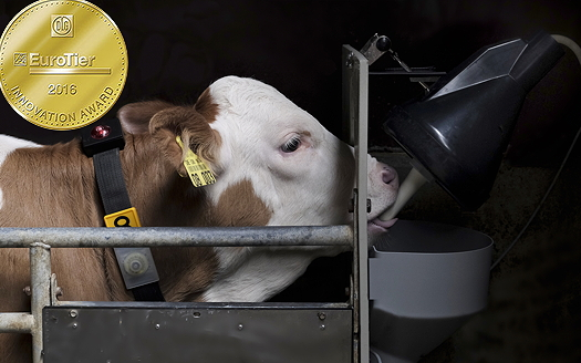 Förster-Technik: Smart Calf System awarded EuroTier Gold for innovation