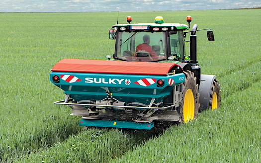 Sulky: New features introduced for high-spec spreaders