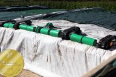Wasserbauer: EuroTier Gold for innovative Wicky cover system for silage clamps