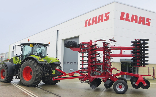 Horsch partners with Claas in East Anglia and the South East