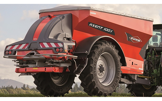 Kuhn: Twin-disc trailed spreader to launch at Lamma 2017