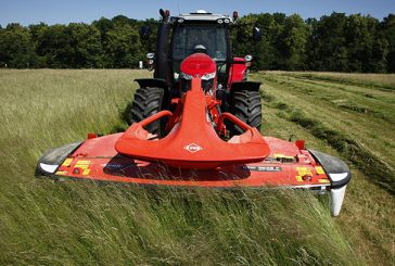 Kuhn: New front-mounted disc mowers for faster solo or combination operations