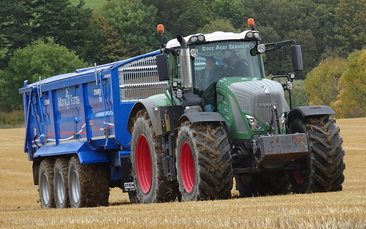 Michelin: Farm trial shows benefits of central tyre inflation systems with high flotation tyres