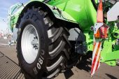 Mitas: New harvesting tyres sizes boast soil friendly technologies