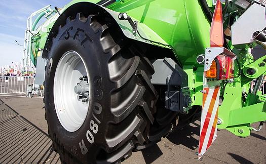 Mitas: New harvesting tyres sizes boast soil friendly technologies