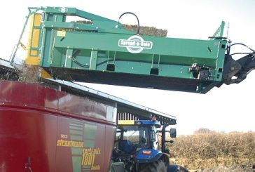 Spread-a-Bale: New attachment for mixer wagon owners