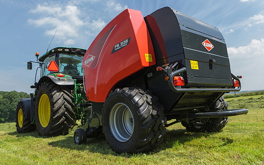 Kuhn: Full auto function upgrade for largest fixed-chamber round baler