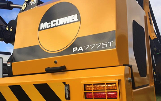McConnel: Lamma preview for new 75-series power arm