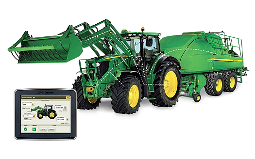 John Deere: Sima Silver for greasing system