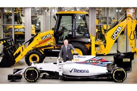 JCB announces partnership with Williams F1