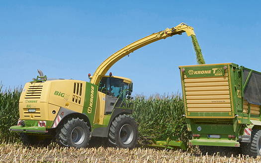 Krone: New kit set to impress at Sima Show