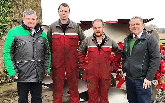 New Pöttinger dealer appointments in Central Scotland