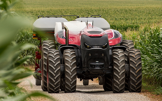 Case IH: Driverless tractor concept makes its European debut