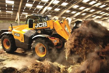 JCB: Agri SmartPower Loadalls  offer substantial fuel savings