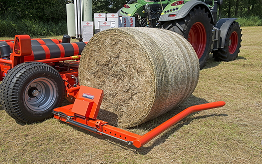 Kuhn: Wrapper upgrade simplifies automated bale loading sequence