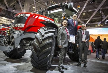 Massey Ferguson: Sima Show accolade for MF6718S