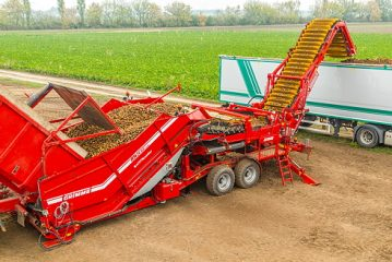 Grimme: Field Loader and crop cart set for Cereals Event debut