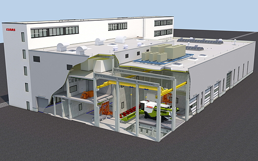 Claas to build a new test centre
