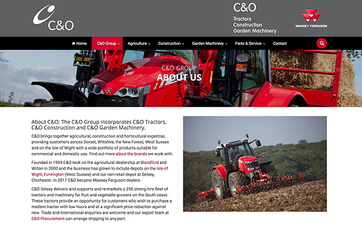 C&O Tractors takes on MF in South Central England