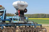 Spaldings: Vento air seeder has auto rate control for seeds and herbicide granules