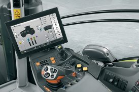 Claas: New touch screen Cebis terminal