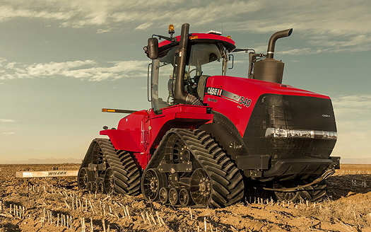 Case IH: Quadtrac CVX brings a continuously-variable transmission to articulated tracked tractors