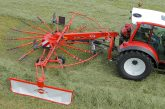 Kuhn: New single-rotor grass rakes launched