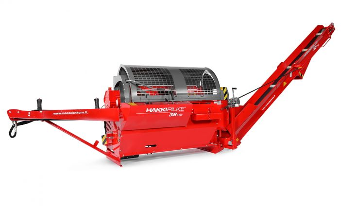 Hakki Pilke: New 38 Pro takes firewood processors to a new level