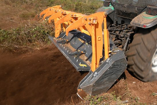Spaldings: Heavy-duty vegetation mulchers for land reclamation and forest management