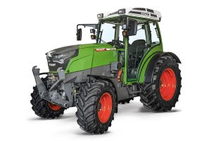 Fendt: e100 Vario battery-powered compact tractor