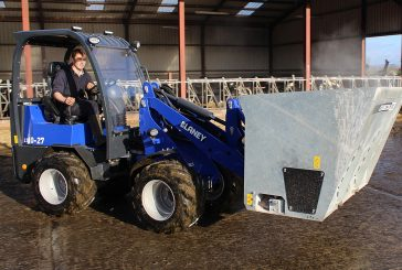 Blaney Motor Company: Pivot steer loader to launch at Lamma