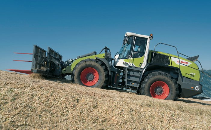 Claas: Torion wheeled loaders designed specifically for agriculture
