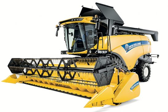 New Holland: Latest CX5 and CX6 Series combines set new standards of comfort and versatility