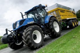 New Holland: T7 steers to a new level of control and comfort