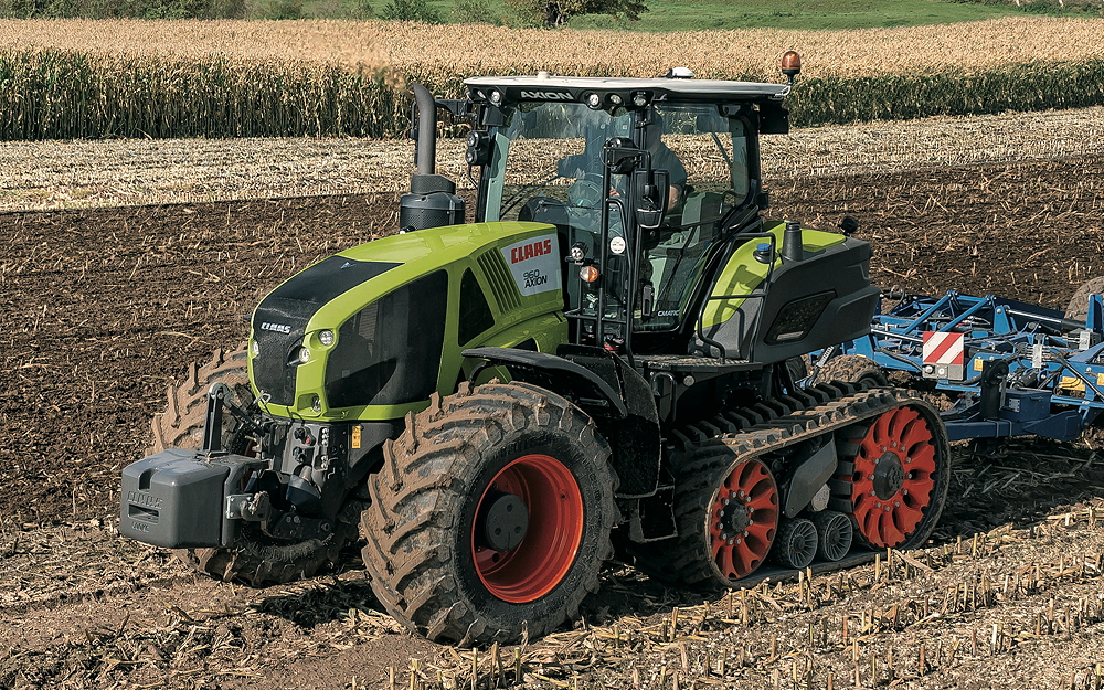 Claas: Terra Trac system is all about the soil – Whats new
