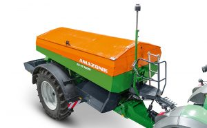 Amazone: Spreader WindControl for optimal distribution