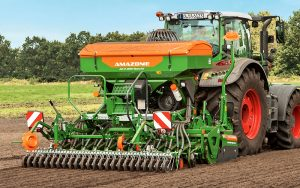 Amazone: New AD-P01 Special seed drill with QuickLink