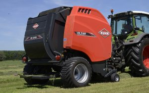 Kuhn Farm Machinery: Variable-chamber round balers updated for 2018