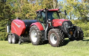 Case IH: Maxxum 145 Multicontroller with ActiveDrive 8 rated a world-beater in DLG PowerMix test