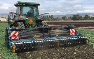 Imants: High-output spade cultivator for light and medium clay soils