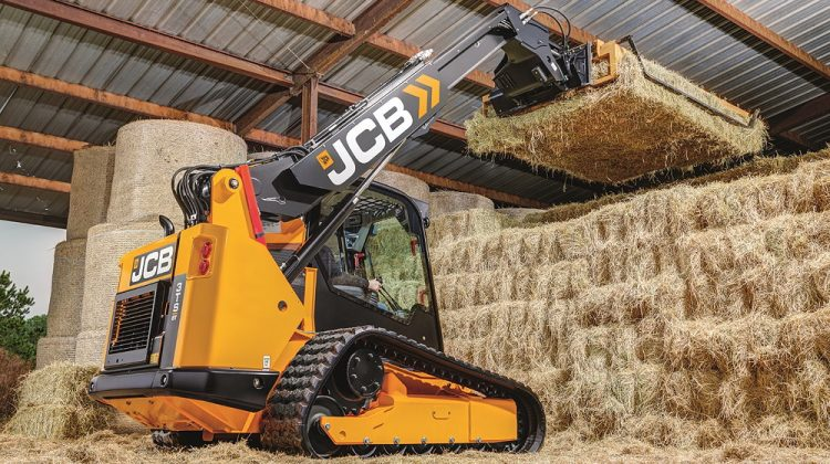 JCB: Compact tracked Teleskid launched for agriculture
