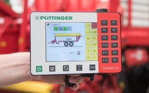 Pöttinger: Expert 75 ISObus terminal offers single-handed operation