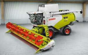 Claas: New control concept and Montana hill-side levelling for Tucano range