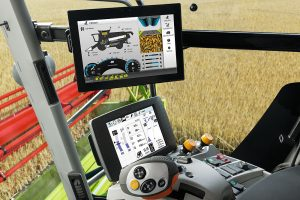 Claas: Third-generation touch-screen Cebis Mobile brings automated Lexion control
