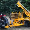 Bryce Suma: Trailed post driver brings hammer muscle to smaller tractors