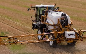 Knight: Uprated brakes and controls on self-propelled sprayers