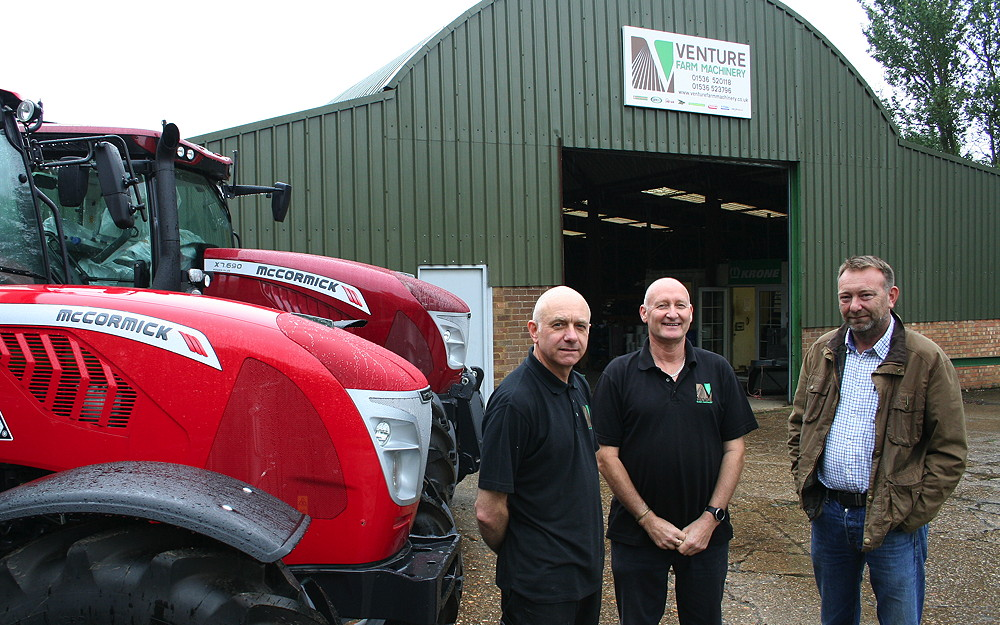 Venture Farm Machinery appointed McCormick dealer for