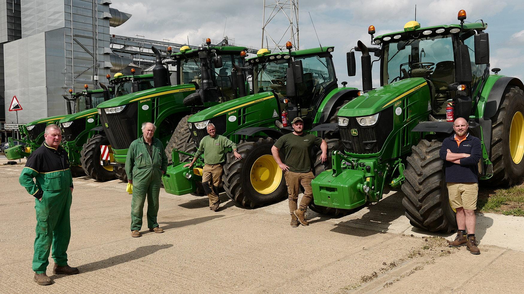 The Bedfordia tractor fleet has been standardised on John Deere tractors with full-time operators