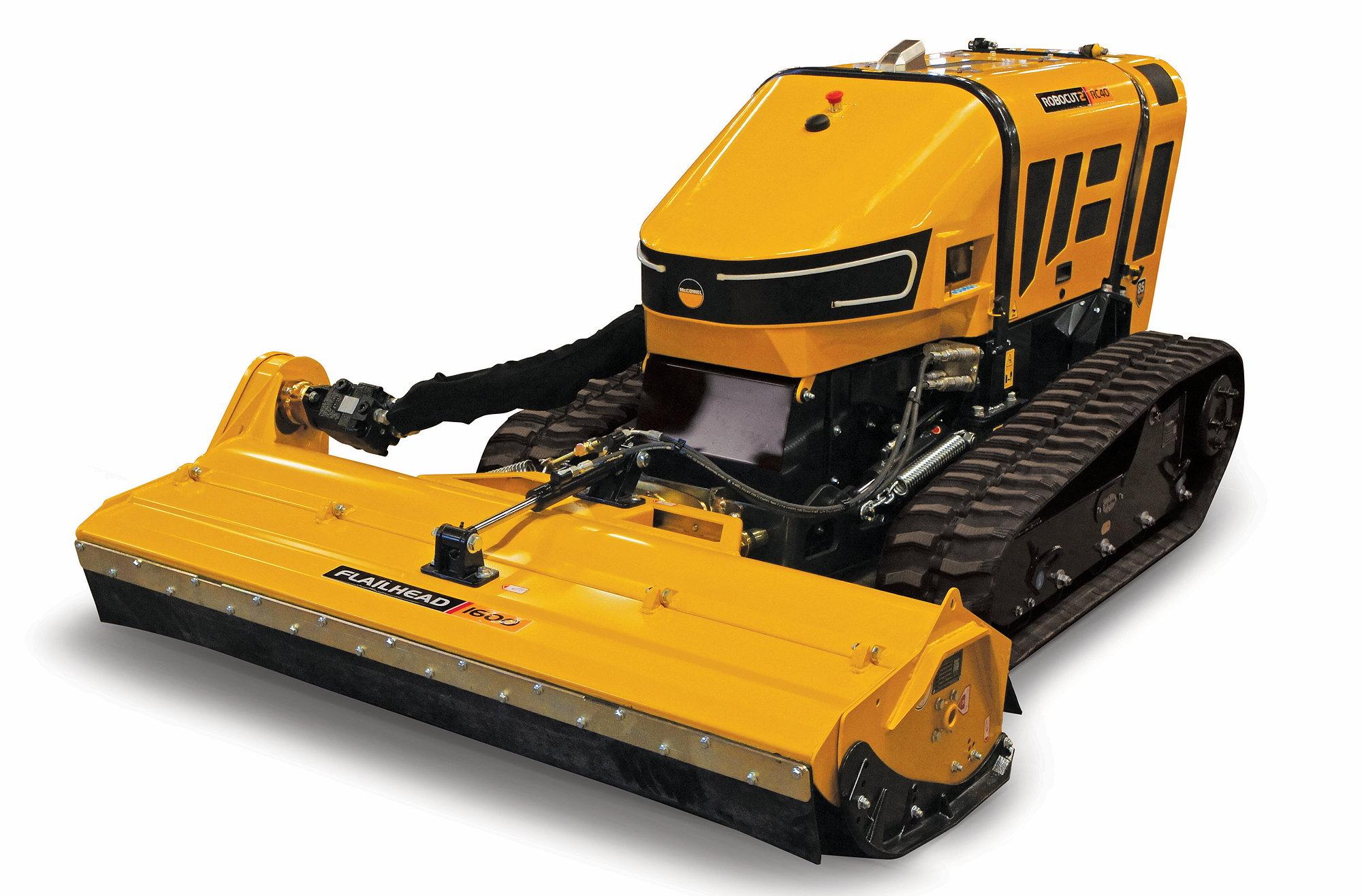 McConnel's new Robocut2 RC40 offers a 40hp power unit