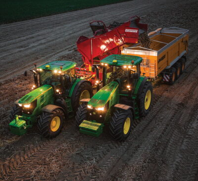 John Deere's Machine Sync can now be used with all harvesting jobs